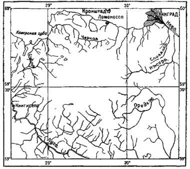 Схема Силурийского плато
